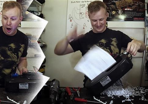 Der schnellste Shredder der Welt