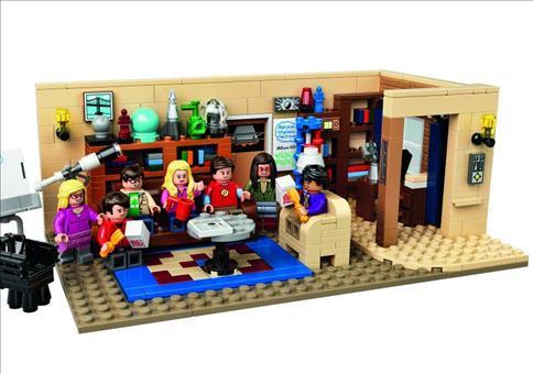 The Big Bang Theory als LEGO!!