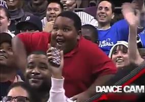 Dance Battle live im Stadion