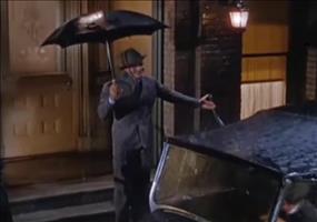 Singin in the rain - Ohne Musik