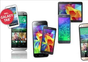 Alles-Drin-Flat mit 3GB + Smartphone + GRATIS-Tablet!