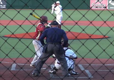 Netter Fang beim Baseball