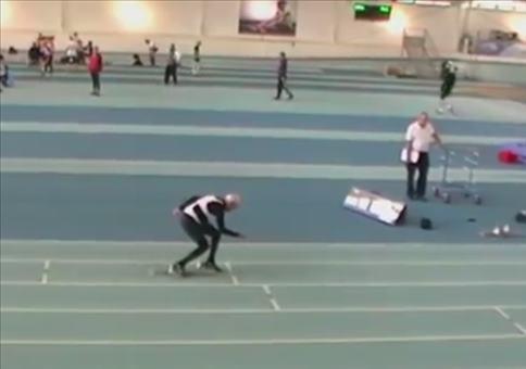 Wenn ein 95 jähriger 200m sprintet