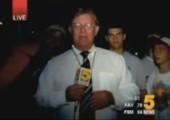 Reporter wird umschwärmt