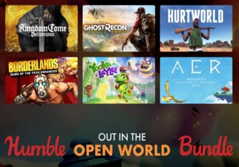 Humble Out in the Open World Bundle - 7 Spiele!