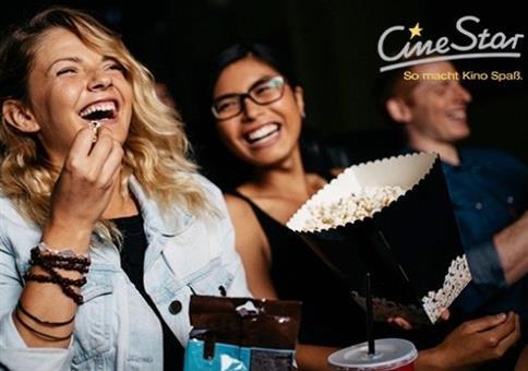3 CineStar-Kinogutscheine für 19,50€