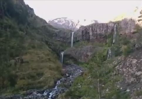 Ungewollt einen Vulkanausbruch gefilmt