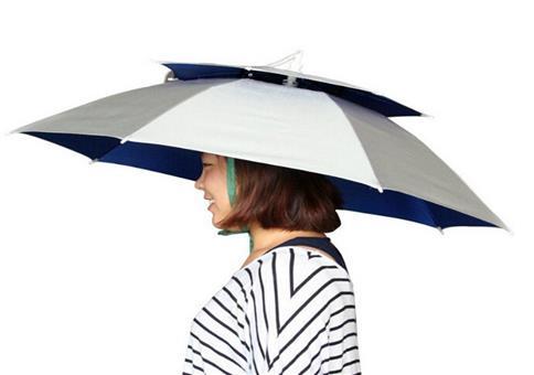 Sich mit diesem Regenschirm zum Vollhorst machen