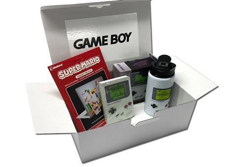 GameBoy Retro - Geschenkbox