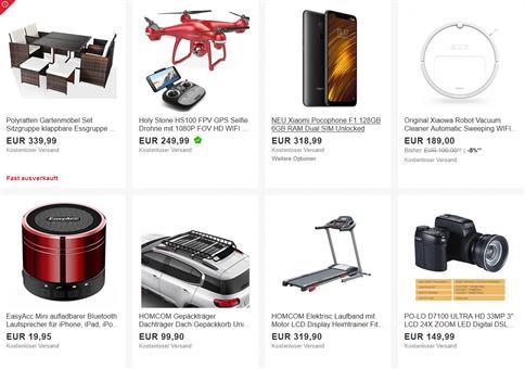 eBay: 15% Gutschein für saisonale Produkte