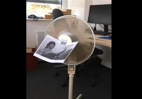 Rambo beschützt euch vor der Hitze