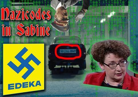 In EDEKA-Spots sind Nazicodes versteckt