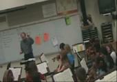 Wütender Musiklehrer