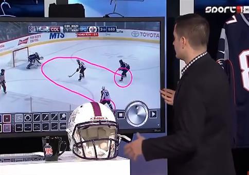 Pimmelanalyse beim Eishockey