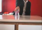Der Trick mit dem Wasserglas
