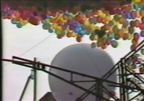 1,5 Millionen Luftballons über Cleveland