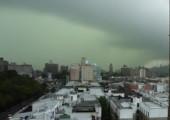 Regenschauer erfasst New York