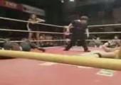 Spezialgriff beim Wrestling