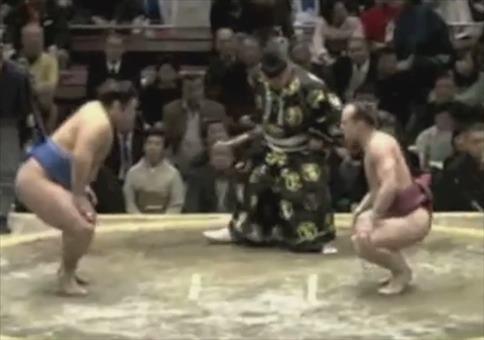Genialer Move beim Sumo