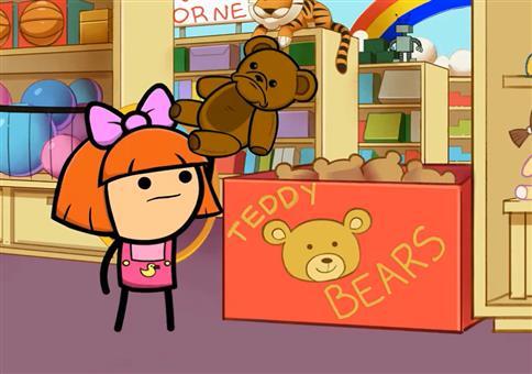 Traurige Teddys