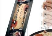Die Pasta Gabel - Selbstdrehend und ohne Batterien
