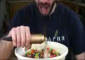 Schneller Müsli essen