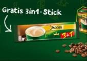 GRATIS: Jacobs Krönung 3 in 1 Produktprobe