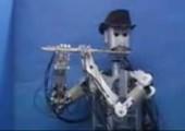 Flötenspieler-Roboter