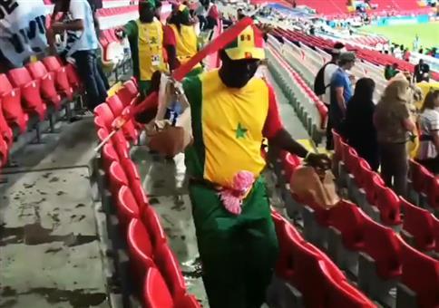 WM 2018: Saubere Fans im Stadion