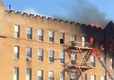Backdraft / Flashover bei Gebäudebrand