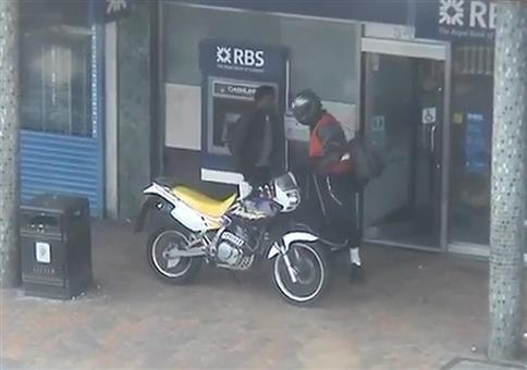 Polizei vereitelt Fluchtversucht von Bankräubern