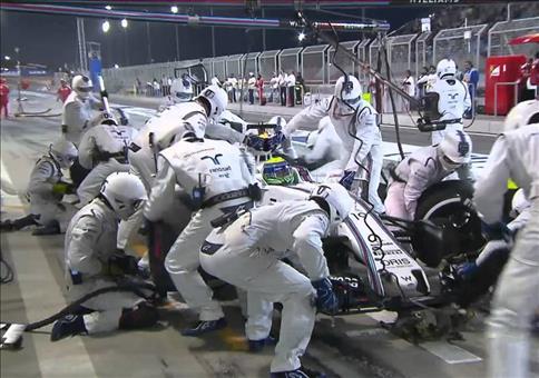 Formel 1: Schnellster Boxenstop ever