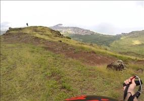 Mit dem Gleitschirm vom Berg ins Tal