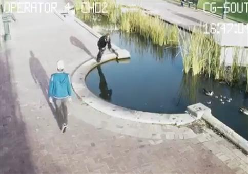 You can't even text and walk