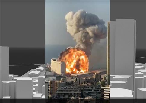 Analyse der Beirut-Explosion