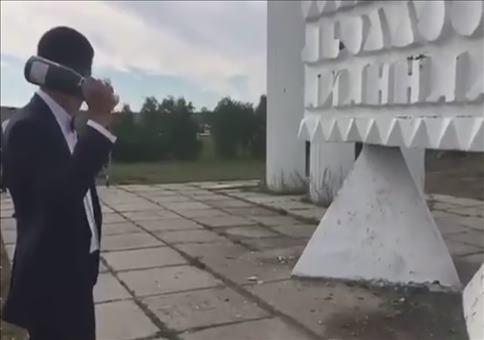 Wenn die Sektflasche zurück schlägt