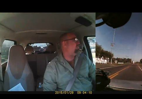 Doppel Dashcam Crash
