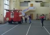 Geschwindigkeitstest bei der Feuerwehr