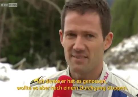 Wenn der Rallye-Fahrer über den Fußballspieler lästert