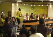 BVB Pressekonferenz - Jetzt kommt dieser Idiot schon wieder