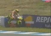 Auch Valentino Rossi muss zwischendurch mal pinkeln