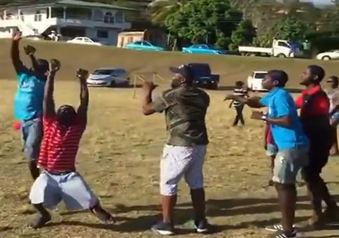 Drachen steigen lassen in Trinidad und Tobago