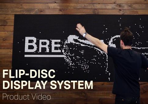 Flip-Disc Display System