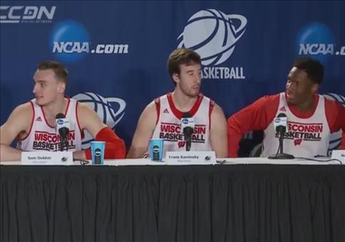Neulich auf einer Basketball Pressekonferenz