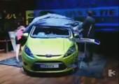 Michelle Heaton enthüllt ein Auto