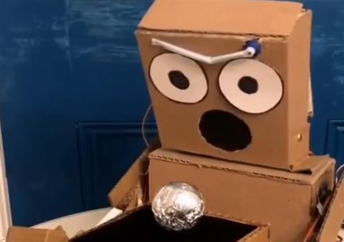 Der zaubernde Roboter