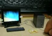Winziger Computer