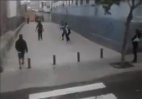 Kurzer Einsatz der Polizei