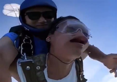 Den Fallschirmsprung verpennt