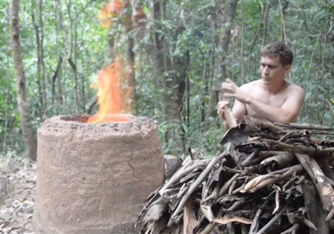 Primitive Technology: Zement aus Holzasche